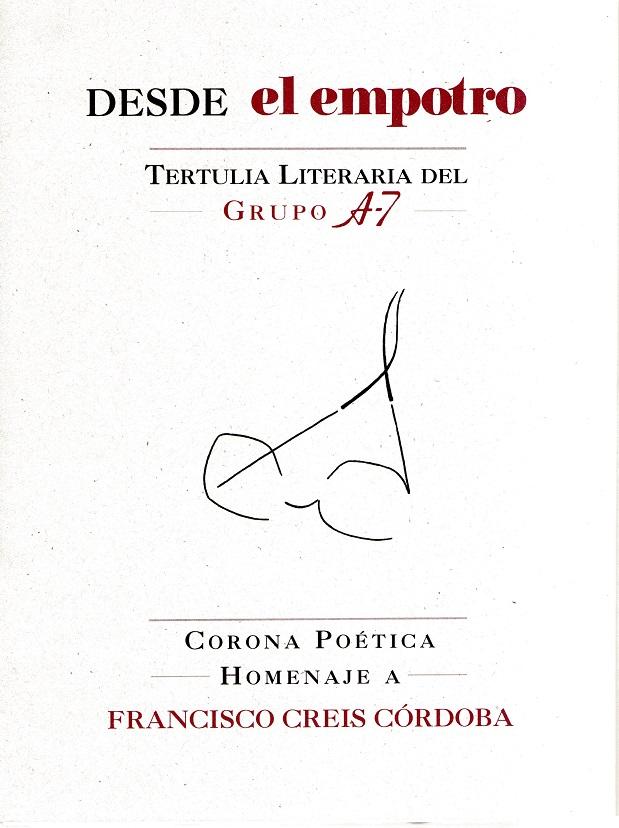 Corona poética a Francisco Creis