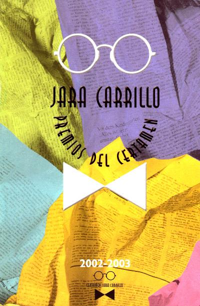 Jara Carrillo. Premios del certamen