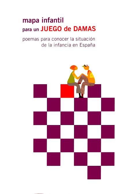 Mapa infantil para un juego de damas