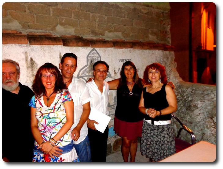 VI Encuentro poético 'El Poder de la Palabra' Arenas de San Pedro (Ávila), 2014