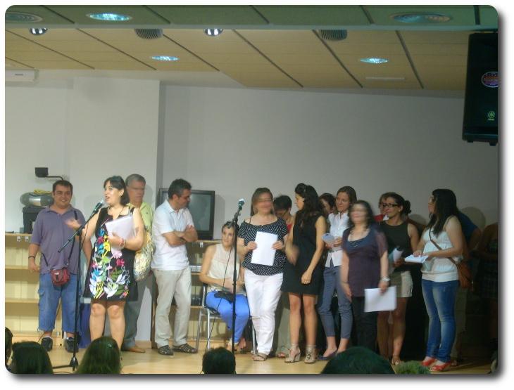 Clausura de Curso en la CEPA Antonio Gala