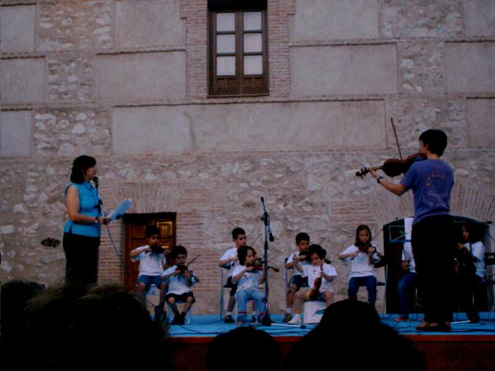 El violín se va de viaje. Museo López Villaseñor. Ciudad Real