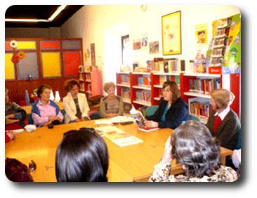 Encuentro con el Club de lectura de Almagro