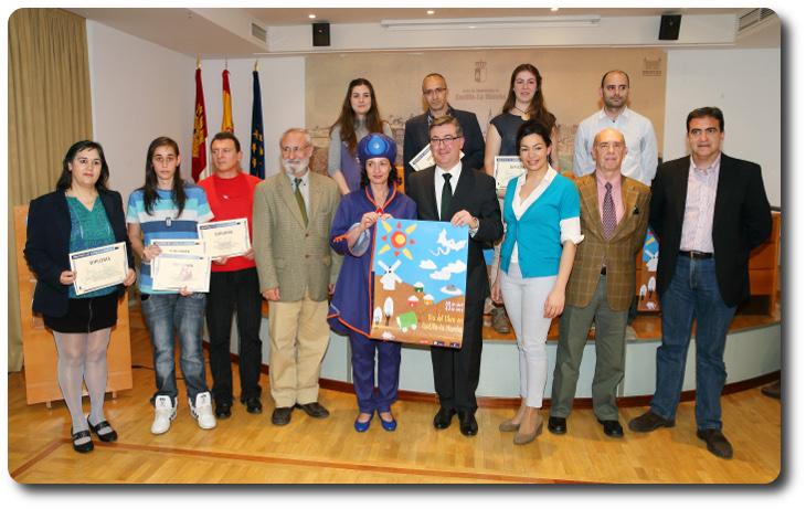 Entrega de premios XV Aniversario Biblioteca Regional de Castilla la Mancha. Toledo