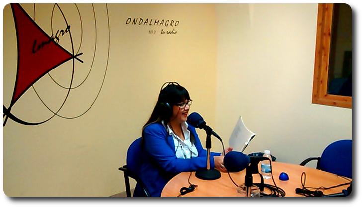 Entrevista en Onda Almagro. ' Sobre la nieve'