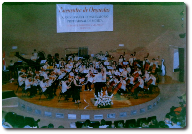 Estreno de 'Sol y la batuta fantasma'. Paraninfo. Universidad de Albacete