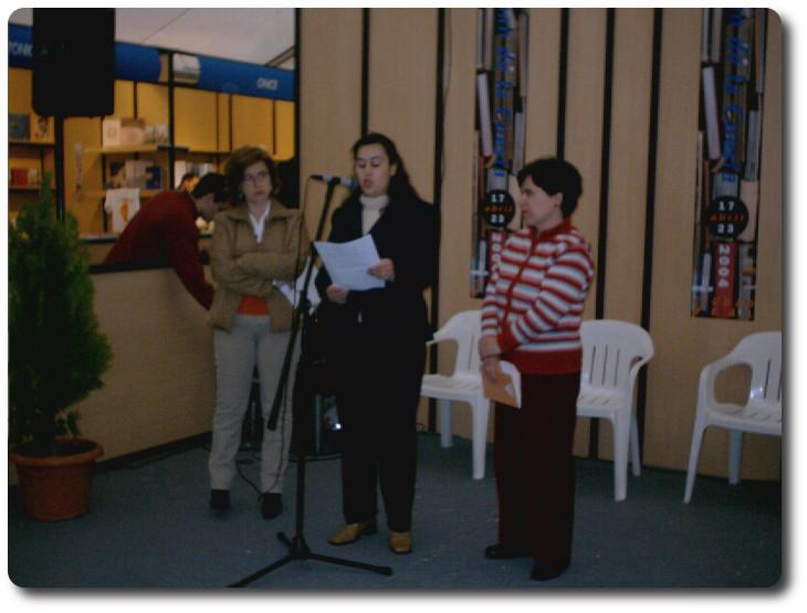 Recital del Grupo Guadiana en la Feria del Libro. Ciudad Real