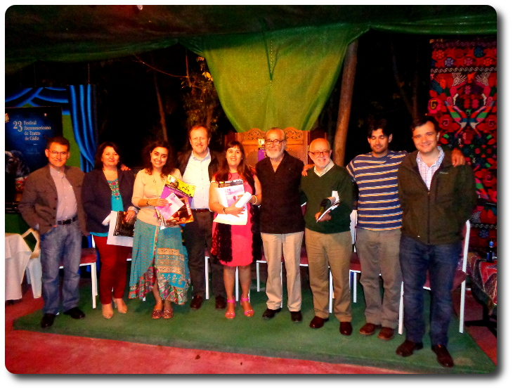 El Grupo Literario Guadiana en el Teatro Laboratorio La Veleta. Almagro