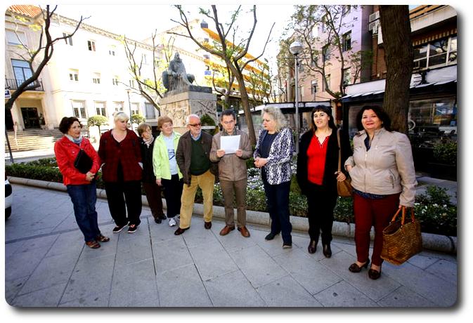 Homenaje a Cervantes. Dia del libro 2014, Ciudad Real