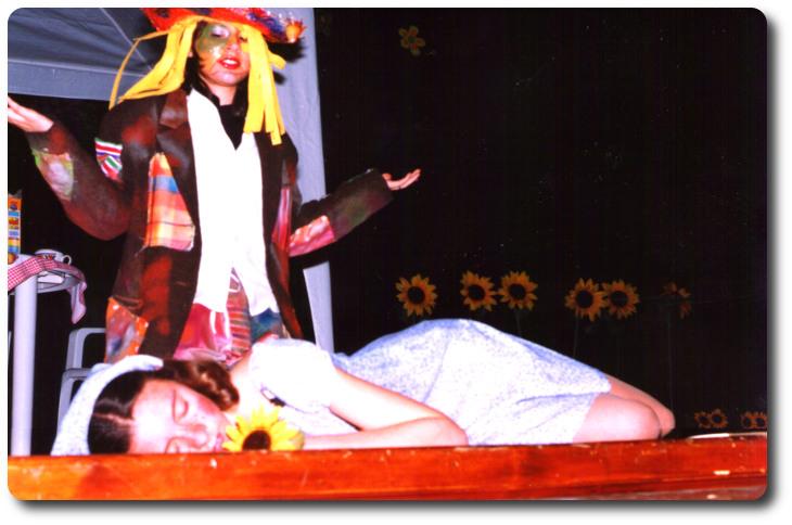 Representación de 'Miedica y el espantapájaros' . Teatro Erisena. Lucena