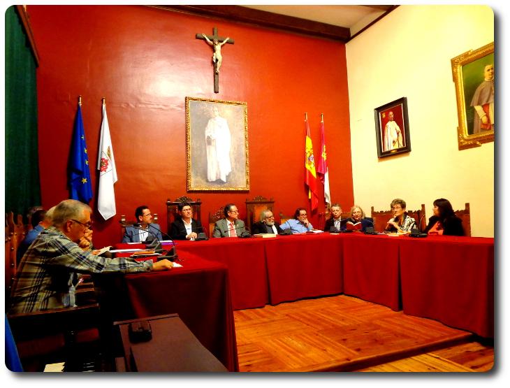 'Palabra de Quijote'. Salón de Plenos. Ayuntamiento de Almagro