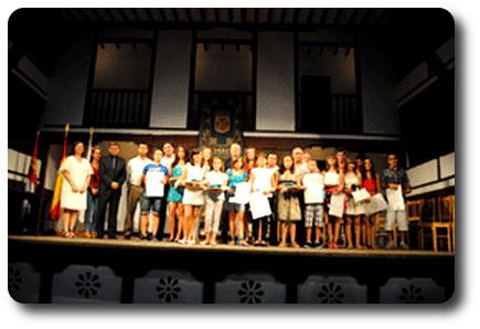 Premio a los mejores estudiantes de Almagro. Corral de Comedias
