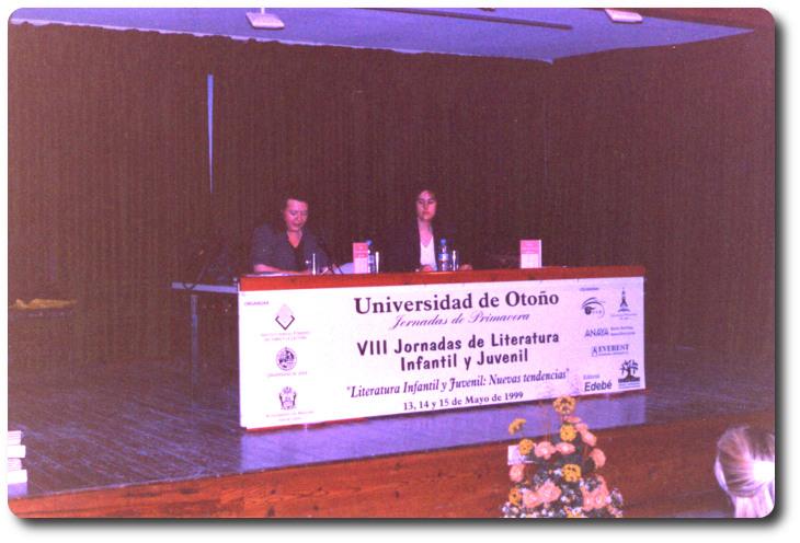 Presentación de 'Iris colecciona besos'. Universidad de Otoño. Andújar