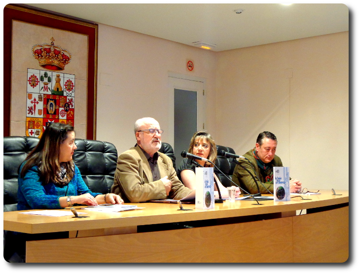 Presentación de la Asociación Verbo Azul. Palacio Condes Valdeparaiso. Almagro