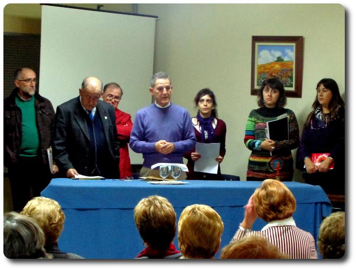 Recital del Grupo Literario Guadiana en la Asociación Provincial de Amas de Casa