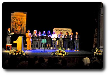 El Grupo Literario Guadiana en la Semana de la poesía de Almagro