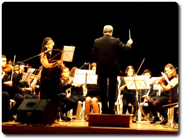 'Sol y la batuta fantasma' en el Auditorio de Villafranca de los Caballeros (Toledo)