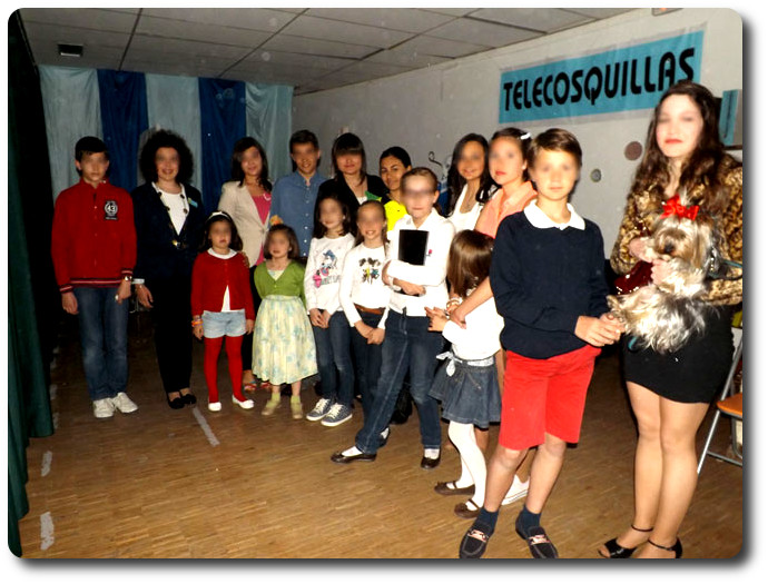 'Telecosquillas' representado en Huelma (Jaén)