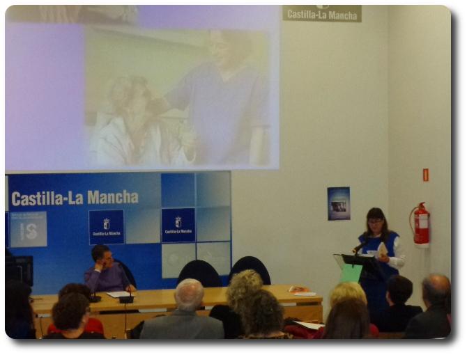 Recital 'Versos para una sonrisa' en el Hospital General Universitario de Ciudad Real