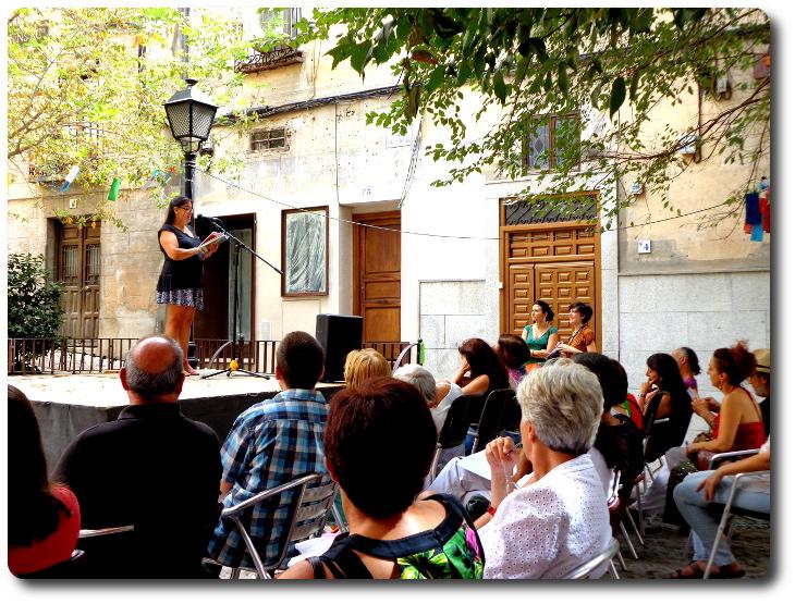 Festival Internacional de Poesía Voix Vives. Plaza de la Bellota. Toledo