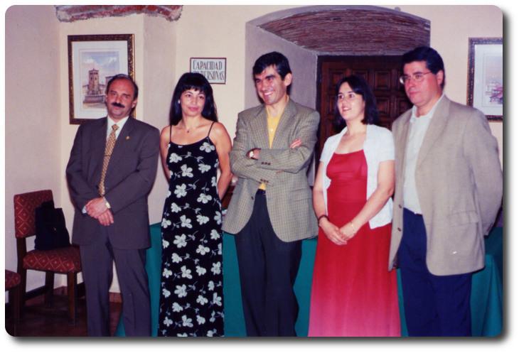 Entrega del Premio. Parador Nacional. Cáceres