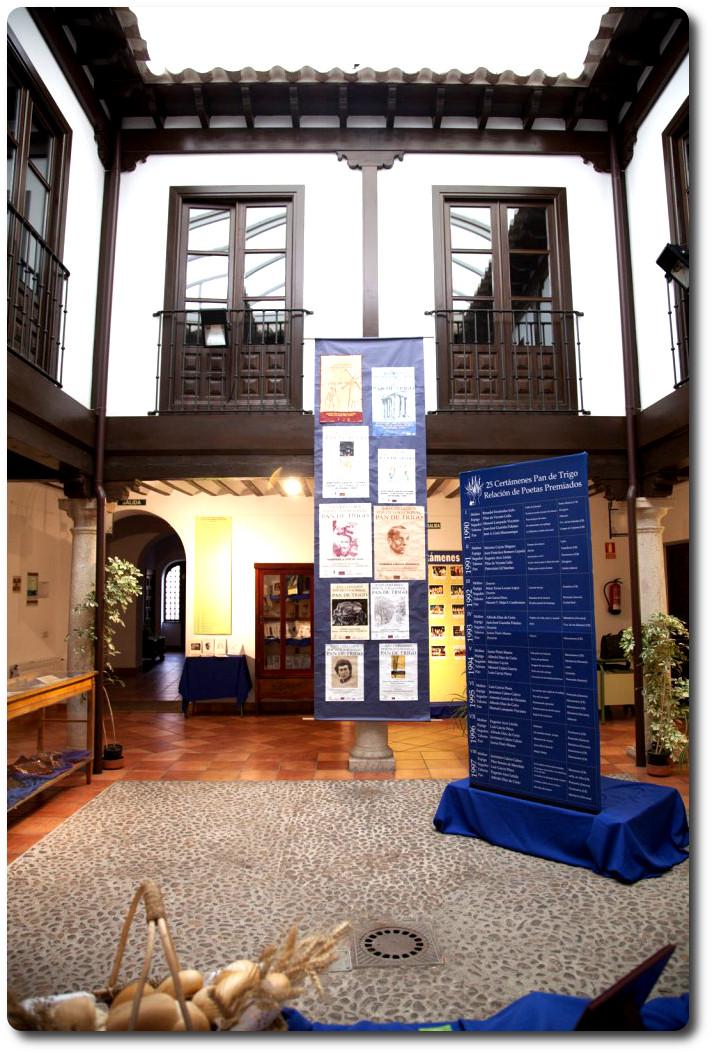 Exposición de 'Pan de Trigo' en la Casa de la Encomienda