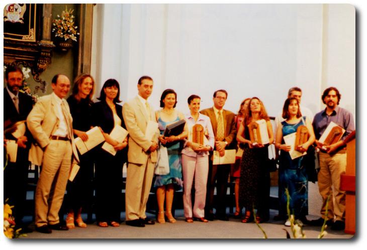 Premiados en los distintos certámenes del 'Mayo Cultural'. Andújar