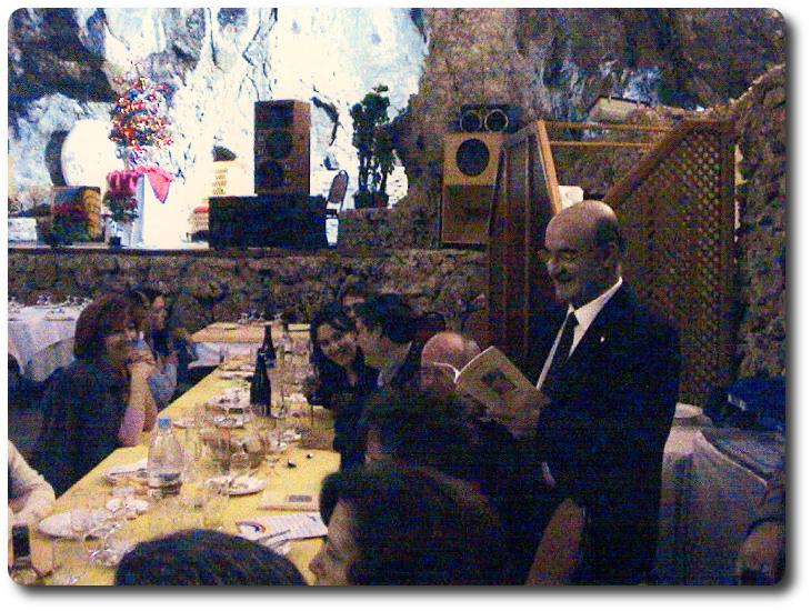 Cena presentación de 'Principado de un sueño'. Pegalajar