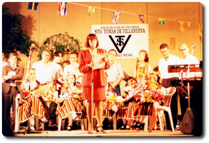 Fiestas barriada Santo Tomás de Villanueva. Ciudad Real