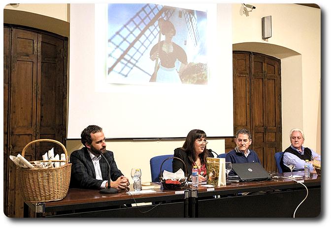 Momento de la presentación del libro Museo del Quijote. Ciudad Real