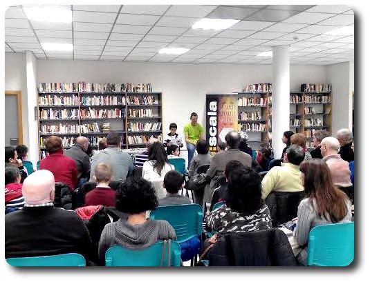 Presentación premios de literatura infantil. Biblioteca San José. Logroño