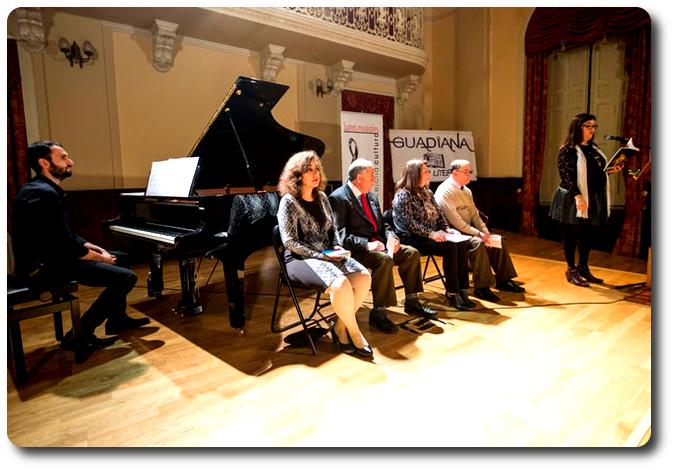 Recital 'Postal de viaje' Salón de Actos del Antiguo Casino. Ciudad Real