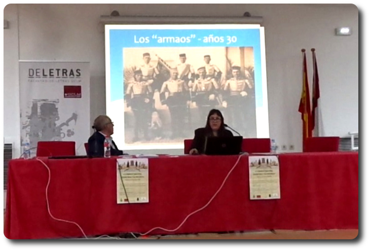 Comunicación en el II Congreso Ciudad Real y su provincia Aula Magna. Facultad de Letras. UCLM. Ciudad Real