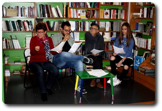 Lectura dramatizada de Pi 3,14.16 Librería Codex. Orihuela (Alicante)