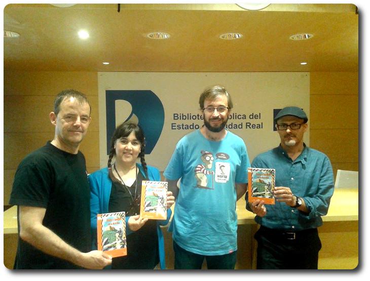 Presentación de 'Cuentos y leyendas para un día de lluvia' Biblioteca Pública del Estado. Ciudad Real