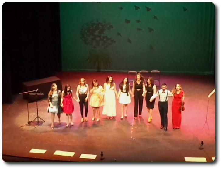 Puesta en escena de 'La cigueña Blasa' Teatro Municipal Quijano. Ciudad Real