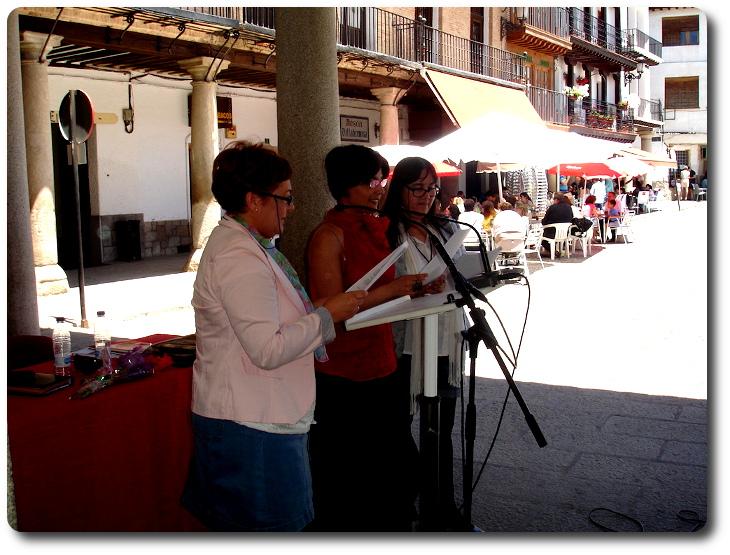Recital de poesía Plaza Mayor. La Puebla de Montalbán