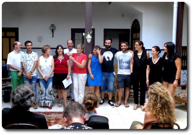 Poetas participantes en Almagro Íntimo 2016