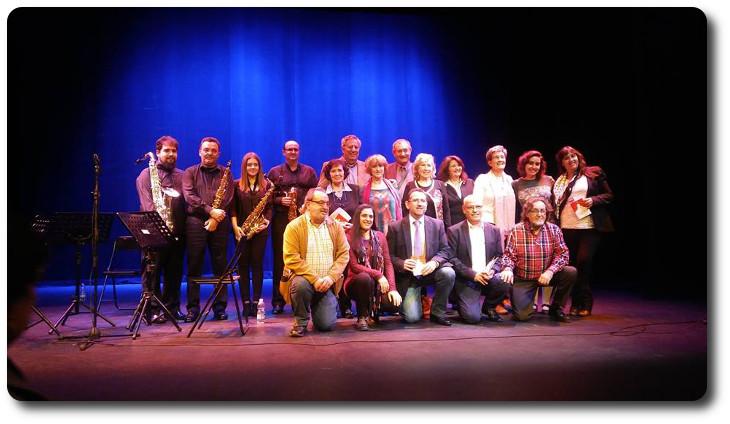 Grupo Oretania en el 31 encuentro de poesía Teatro municipal. Almagro