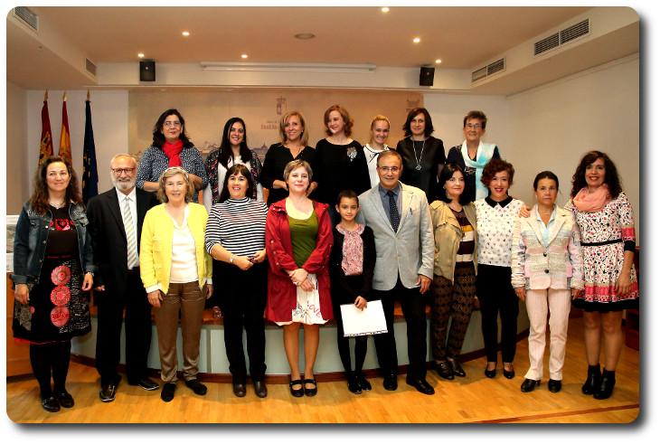Participantes en el I Encuentro de Escritoras de Castilla la Mancha Biblioteca Regional. Toledo
